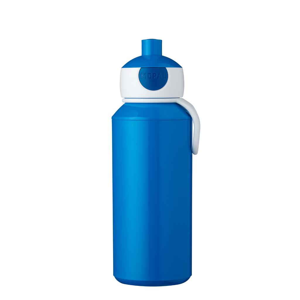 Afbeelding van Mepal Drinkfles Pop-Up Blauw 400 ml