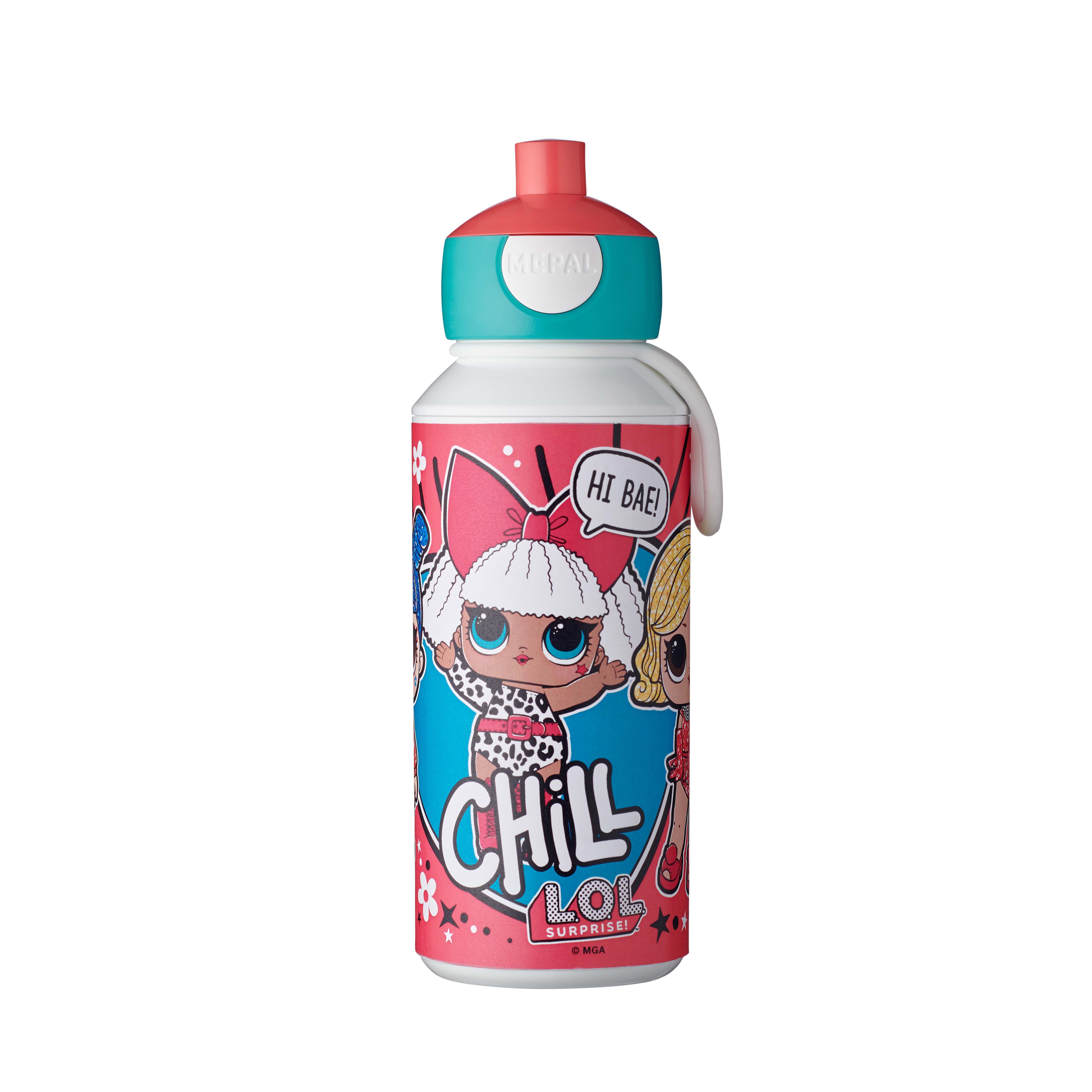 Afbeelding van Drinkfles Pop-Up LOL Surprise 400 ml