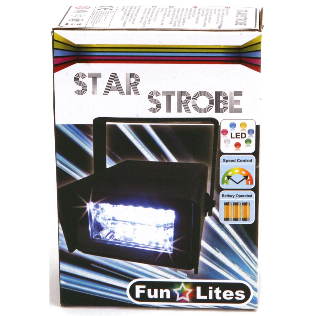 Afbeelding van Disco Stroboscoop Led B/O