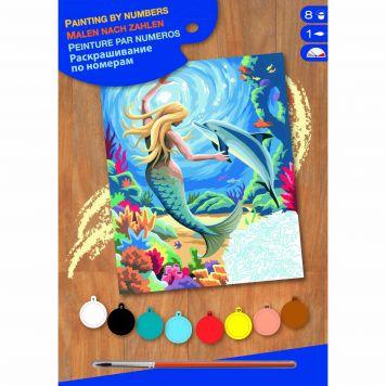 Schilderen Op Nummer Mermaid
