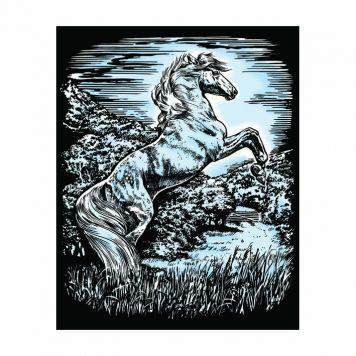 Krasfolie Paard