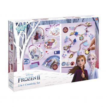 Frozen 2 2-In-1 Creativity Set Totum