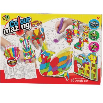 Colormazing 3D Jungle