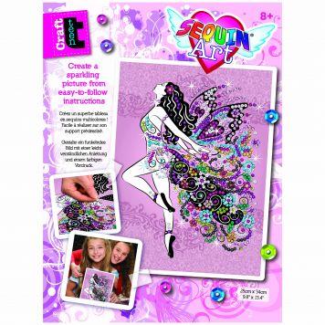 Sequin Art Teens Fairy