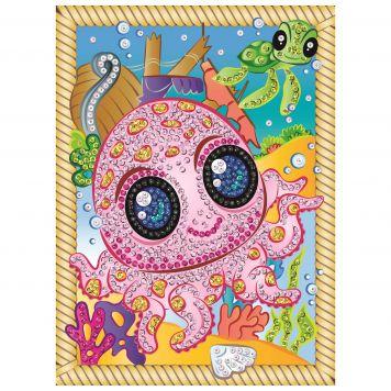 Sequin Art Smoogles Octopus Splash
