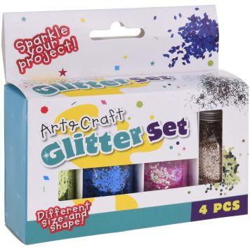 Glitters Set 4 Kleuren