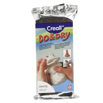 Boetseerklei Creall Wit 0,5kg