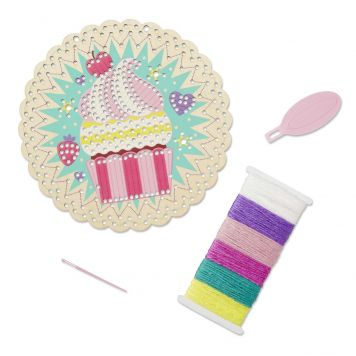 Borduren Cupcake