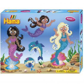 Strijkkralen Hama Mermaid 4000 Delig Inclusief  Edelstenen