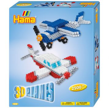 Strijkkralen Hama 3D Vliegtuigen