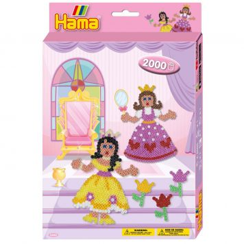 Strijkkralen Hama Princess 2000 Delig
