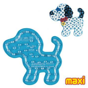 Maxi Strijkkralen Grondplaat Hama Hond