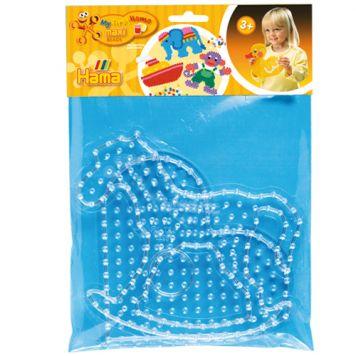 Maxi Strijkkralen Grondplaat Hama Hart + Paard