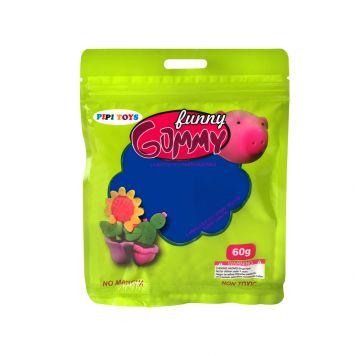 Funny Gummy 60 Gram Donker Blauw