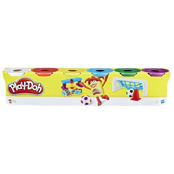 Playdoh 6-Pack Primary Colours