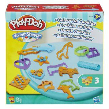 Playdoh Colorful Cookies
