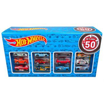 Hot Wheels Set met 50 Auto's