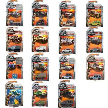 Jurassic World Matchbox Diecast Collectie  (Legacy & Movie) Assorti