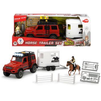 Jeep Met Paardentrailer B/O