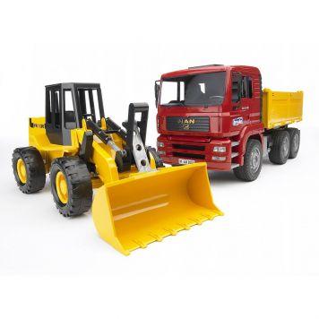 Bruder Vrachtwagen Met Shovel