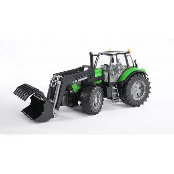 Bruder Tractor Deutz Agrotron X7 Met Frontlader