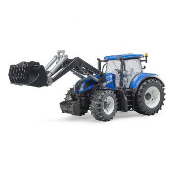 Bruder Tractor New Holland T7.315 Met Frontlader