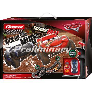Racebaan Carrera GO Cars 540 Cm Mud Racing