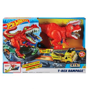 Hot Wheels City T-Rex Ravage Speelset