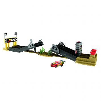 Cars XRS Drag Racing Track Set