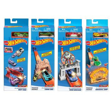 Hot Wheels City Entry Trackset Assorti