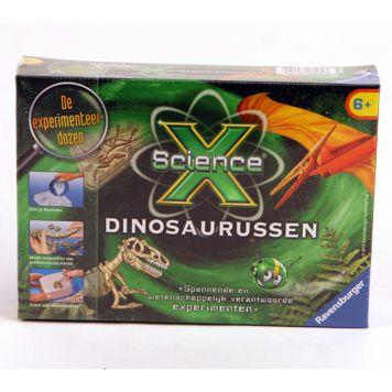 Experimenteerset Science X Mini Dinosaurussen