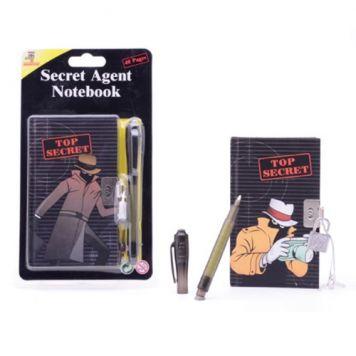 Notitieboekje Secret Agent Met Geheime Pen
