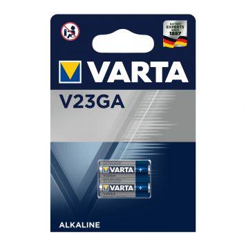 Batterij Varta Alkaline V23GA 12 V 2 Stuks
