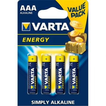Batterijen AAA Varta Energy 4 Stuks