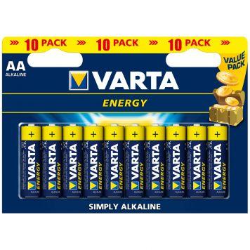 Batterijen AA Varta Energy 10 Stuks