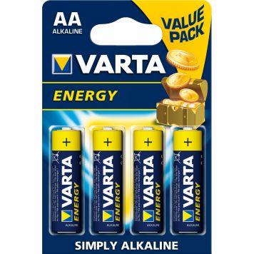 Batterijen AA Varta Energy 4 Stuks