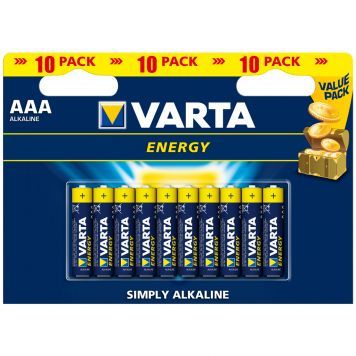 Batterijen AAA Varta Energy 10 Stuks