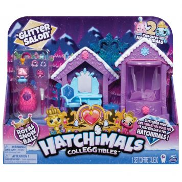 Hatchimals Colleggtibles Glitter Salon Speelset S6 Assorti