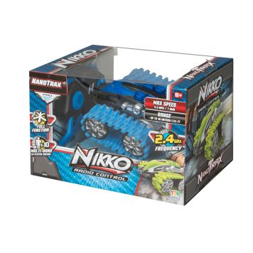 R/C Nikko Velocitrax Nano Blauw