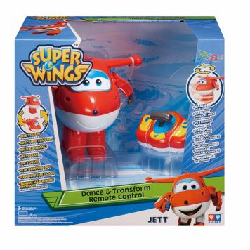 Super Wings Dance And Transform Jett