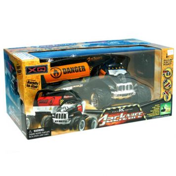 R/C Auto Jacknife Stunt Truck