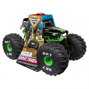 R/C Monster Jam Mega Gravedigger