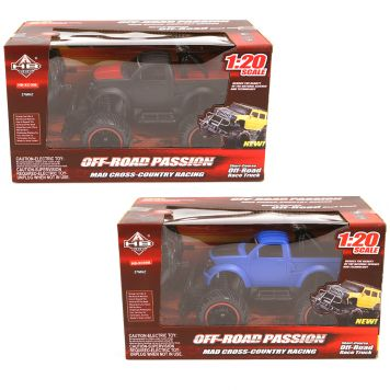 R/C 1:20 Monster Truck 2 Assorti