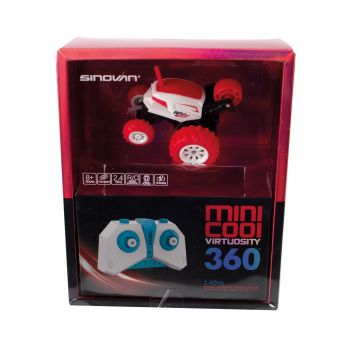 RC Mini Stunt Racer Rood