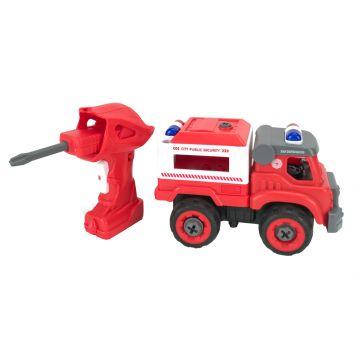 R/C Brandweerauto Demonteerbaar