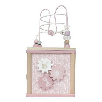 Activiteitenkubus Pink Little Dutch