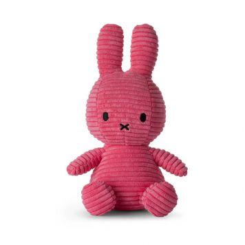 Nijntje Pluche Corduroy Bubblegum Pink 23 Cm