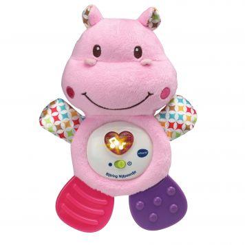 Vtech Bijtring Nijlpaardje Roze