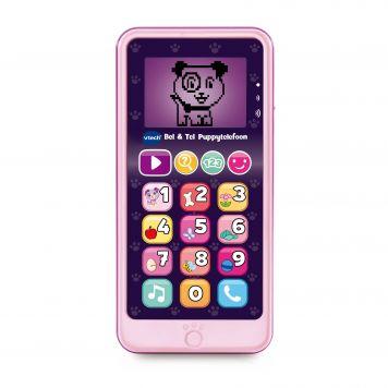 Vtech Bel & Tel Puppytelefoon Roze