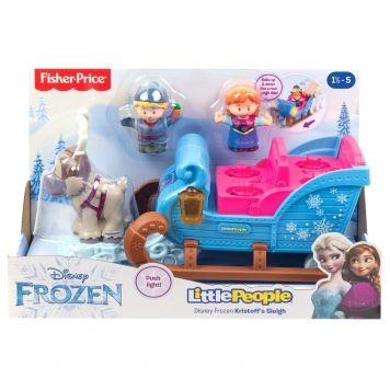 Fisher Price Little People Disney Princess  Kristoff's Slee